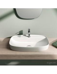 Umywalka Nablatowa Catalano Green Lux 65x42 Biała 165grlx00