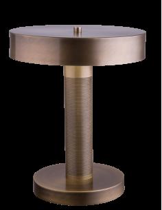 Lampa gabinetowa Defeza patyna mat Amplex 0479