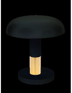Lampa gabinetowa Fungo czarno-złota Amplex 0570