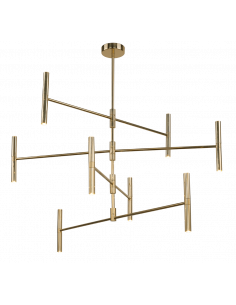 Lampa Livi złota Amplex 0181