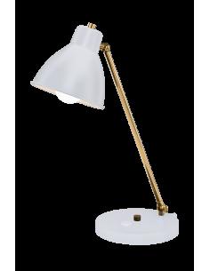 Lampa gabinetowa Loga czarno-złota Amplex 0452