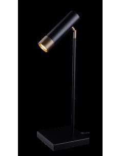 Lampa gabinetowa Eido czarno-patyna Amplex 0351