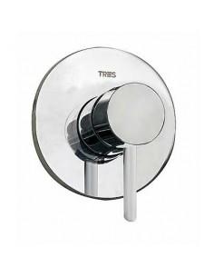 Bateria prysznicowa podtynkowa Tres Alplus chrom 20317701
