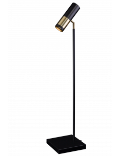 Lampa gabinetowa kavos czarno-złota Amplex 0387