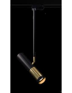 Reflektor pod szynoprzewód Kavos czarno-złoty Amplex 0389