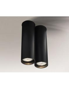 Lampa ARIDA 1113 Shilo czarna 1113/GU10/czarny