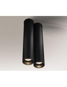 Lampa ARIDA 1114 Shilo czarna 1114/GU10/czarny