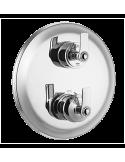 Bateria prysznicowo-wannowa Omnires Armance trójwyjściowa, podtynkowa, termostatyczna, chrom AM5238/6 CR