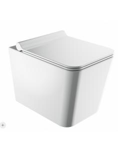 Miska WC bezkołnierzowa Omnires Boston 53x36 cm BOSTONMWBP