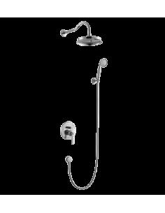 Kompletny łazienkowy system Omnires Armance podtynkowy, chrom SYS AM10 CR