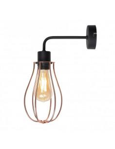 Lampa 1-pł. ALLEGRA czarna ALDEX 960C