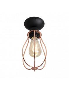 Lampa 1-pł. ALLEGRA czarna ALDEX 960PL/G