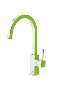 Bateria kuchenna TRES COCINA EXCLUSIVE zielona/chrom 130497VE