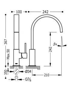 Bateria kuchenna TRES COCINA EXCLUSIVE chrom 130498