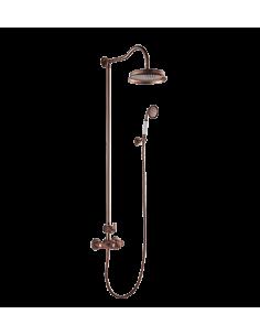 System prysznicowy Omnires Armance natynkowy, termostatyczny AM5244/6 ORB