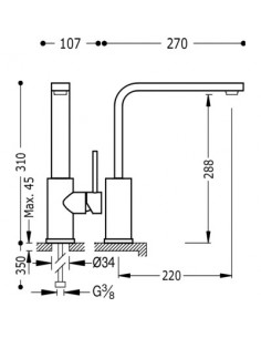 Bateria kuchenna TRES COCINA EXCLUSIVE chrom 162435