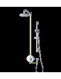 Kompletny łazienkowy system Omnires Y podtynkowy, chrom SYS Y17