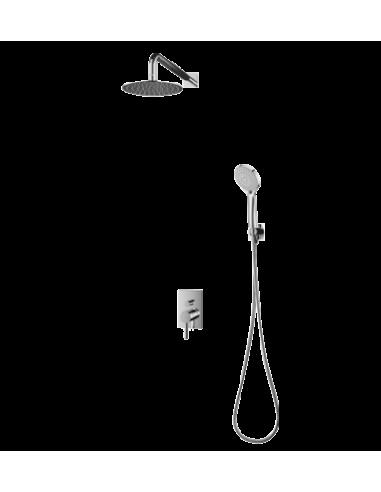 Kompletny łazienkowy system Omnires Y podtynkowy, chrom SYS Y23/K