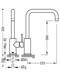 Bateria kuchenna TRES COCINA EXCLUSIVE chrom 162541