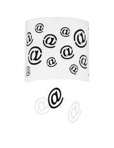 Lampa 1-pł. ALDEX MAIL biała 703C