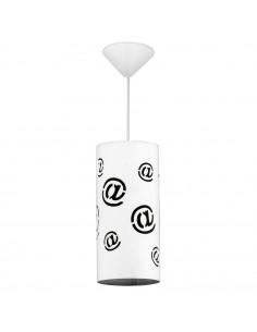 Lampa 1-pł. ALDEX MAIL biała 703G/M