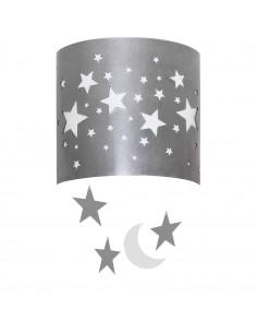 Lampa 1-pł. ALDEX GWIAZDY niebieska 710C/11