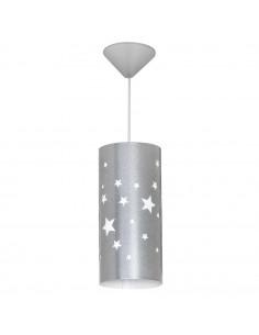Lampa 1-pł. ALDEX GWIAZDY niebieska 710G/11/M