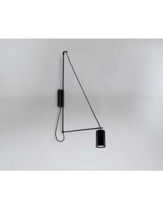 Lampa Shilo Dohar kabe 9016 czarna 9016/GU10/CZ