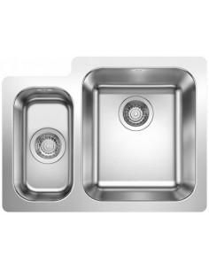 Zlewozmywak kuch. wpuszczany, nieodwracalny BLANCO SUPRA 340/180-IF P: 625x470 mm, L: 625x410 mm korek manualny, stal 523366