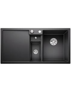 Zlewozmywak kuch. wpuszczany, nieodwracalny BLANCO COLLECTIS 6S 1000x510 mm korek automatyczny (InFino), antracyt 523344