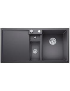 Zlewozmywak kuch. wpuszczany, nieodwracalny BLANCO COLLECTIS 6S 1000x510 mm korek automatyczny (InFino), szarość skały 523345