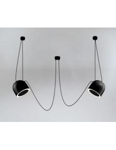 Lampa Shilo Dohar DOBO 9036 czarna 9036/E14/CZ