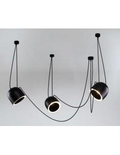 Lampa Shilo Dohar DOBO 9037 czarna 9037/E14/CZ