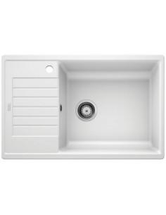 Zlewozmywak kuch. wpuszczany, odwracalny BLANCO ZIA XL 6 S Compact 780x500 mm korek manualny (InFino), biały 523277