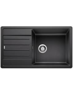 Zlewozmywak kuch. wpuszczany, odwracalny BLANCO LEGRA XL 6S 860x500 mm korek manualny, antracyt 523326