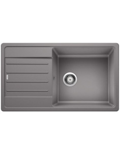 Zlewozmywak kuch. wpuszczany, odwracalny BLANCO LEGRA XL 6S 860x500 mm korek manualny, alumetalik 523327