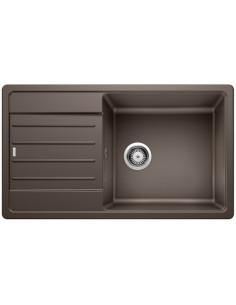 Zlewozmywak kuch. wpuszczany, odwracalny BLANCO LEGRA XL 6S 860x500 mm korek manualny, kawa 523331