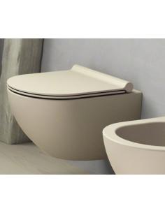 MISKA WC CATALANO SFERA NEW FLASH BEZRANTOWA 35X55 SZARY MATOWY 1VSF54RGS