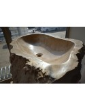 Umywalka stojąca kamienna 1el. 80x50x90 cm