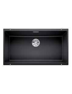 Zlewozmywak kuch. podwieszany, nieodwracalny BLANCO SUBLINE 800-U 830x460 mm korek manualny (InFino®), antracyt 523141