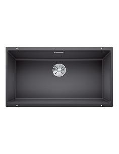 Zlewozmywak kuch. podwieszany, nieodwracalny BLANCO SUBLINE 800-U 830x460 mm korek manualny (InFino®), szarość skały 523142