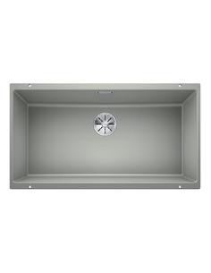 Zlewozmywak kuch. podwieszany, nieodwracalny BLANCO SUBLINE 800-U 830x460 mm korek manualny (InFino®), perłowoszary 523144