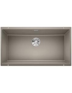 Zlewozmywak kuch. podwieszany, nieodwracalny BLANCO SUBLINE 800-U 830x460 mm korek manualny (InFino®), tartufo 523148