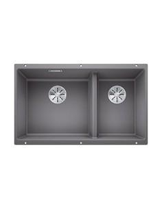Zlewozmywak kuch. podwieszany, nieodwracalny BLANCO SUBLINE 430/270-U 755x460 mm korek manualny (InFino®), alumetalik 523153