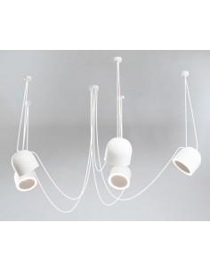 Lampa Shilo Dohar DOBO 9038 czarna 9038/E14/CZ