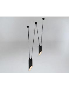 Lampa Shilo Dohar VIWIN mini 9046 czarna 9046/GU10/CZ