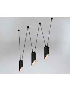 Lampa Shilo Dohar VIWIN mini 9047 czarna 9047/GU10/CZ