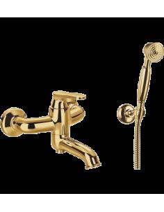 Bateria wannowa Omnires Art Deco złoto AD5131 ZL