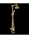 Zestaw natryskowy podtynkowy Omnires Art Deco złoto AD5144 ZL