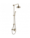 Zestaw natryskowy Omnires Art Deco brąz antyczny AD5144 BR
